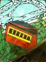 Incline, by Debbie Jacknin of Mosaic Glass  Creations