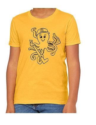 Dragon, Pittsburgh Octopus, & Scientific Octopus Adult Shirts, by Debbie Jacknin