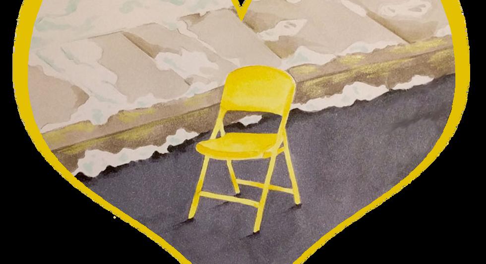 Pittsburgh Parking Chair, by Katya Malkin
