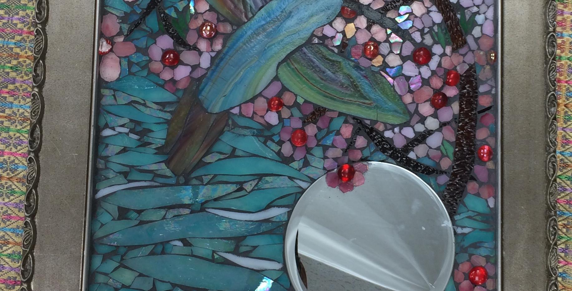 Flight of the Hummingbird Mirror