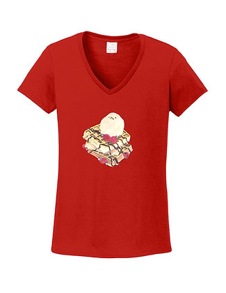 Ice Cream Bird Adult Shirts, by Kai