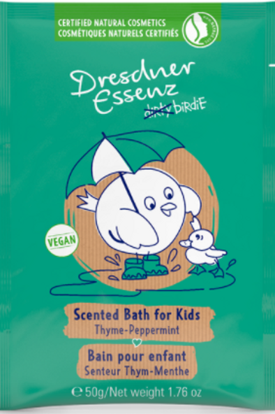 Dresdner Essenz Scented Bath for Kids (Thyme-Peppermint)