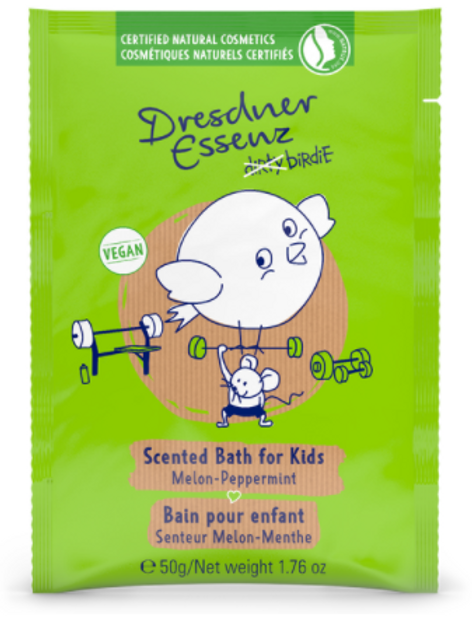 Dresdner Essenz Scented Bath for Kids (Melon - Peppermint) (50g)