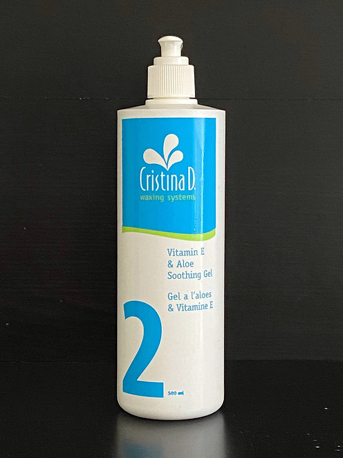 Cristina D Vitamin E & Aloe Soothing Gel -Step 2 After Waxing (500ml)