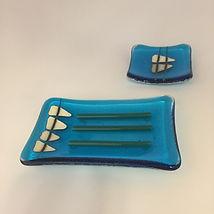 disalvo-fused glass soap dish set.jpg