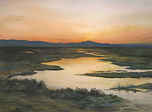 Sunrise over Oakland Hills_Davies