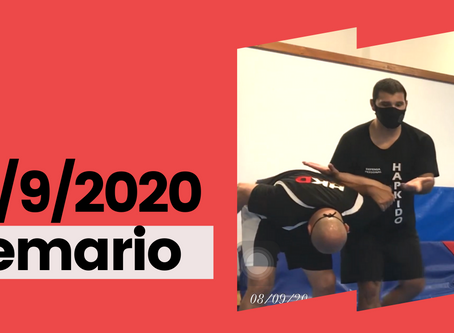 Temario del 8 de septiembre 2020