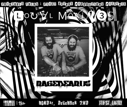 Ragebeards @ LOCAL MOTIV3S in the 7th St. Entry