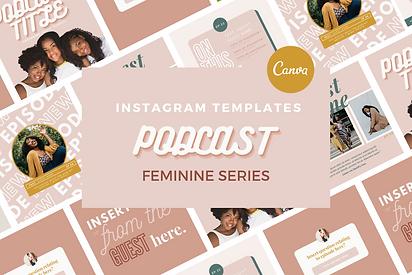 Feminine Podcast IG Templates.png