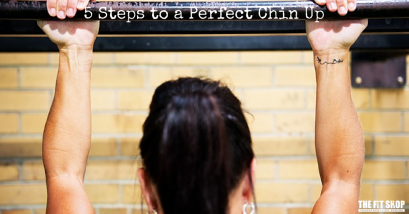5 Steps to the Perfect Chin Up