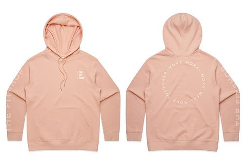 Womens Premium Hood - Pale Pink