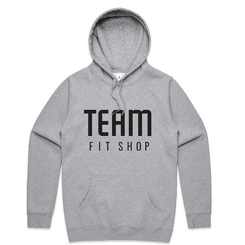 Team Fit Shop Grey Hoodie (Unisex)