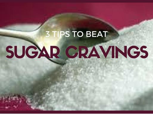 3 Tips to Beat Sugar Cravings
