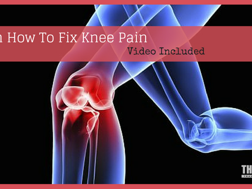 How To Fix Knee Pain!