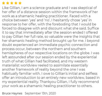 Bruce Haynes - September 2020 - Shamanic Healing.png