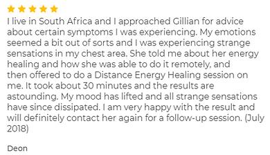 Deon Niemann - July 2018 - Distance Energy Healing.png