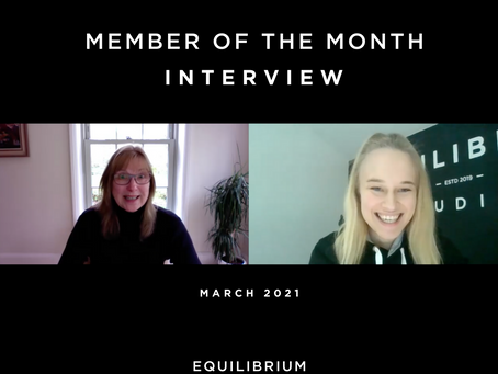 Member Of The Month - March 2021