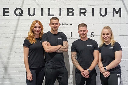 Equilibrium Studios Personal Training Team