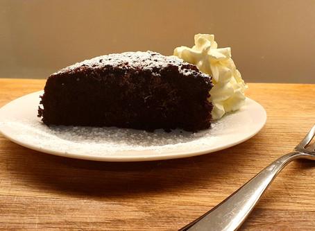Chocolate Avocado Oil Cake