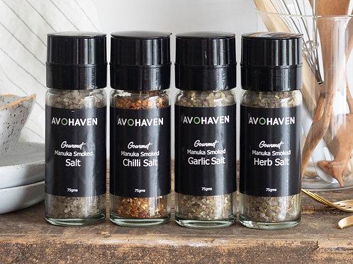 Gourmet Smoked Herb Salt