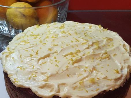 Lemon Avocado Oil Cake