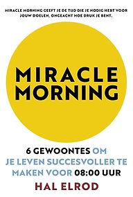 Boek Miracle Morning van Hal Elrod