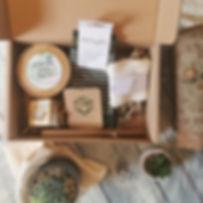 Plastic Free Foot Care Gift Box