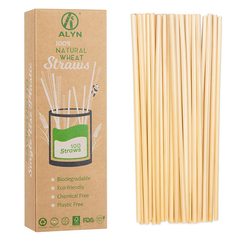 Wheat Straws 100 Pack