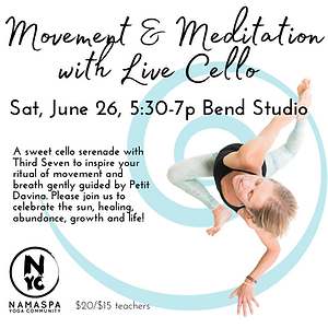 IG Movement & Meditation with Live Cello