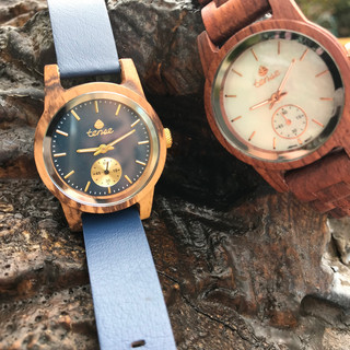 Tense wood watches