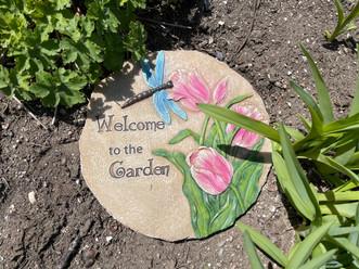 Garden Stone Decor