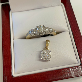 Gold and Diamond pieces available