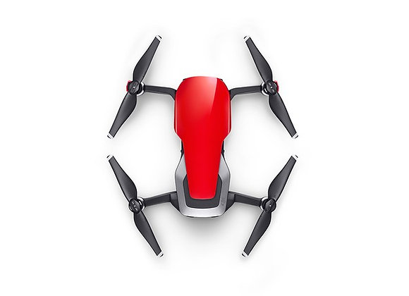 DJI Mavic Air - Ultraportable 4K Quadcopter - Flame Red
