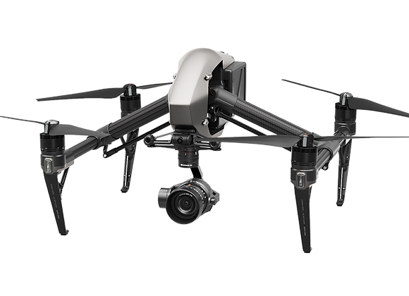 DJI Inspire 2 With Zenmuse X5S Camera CinemaDNG and Apple ProRes