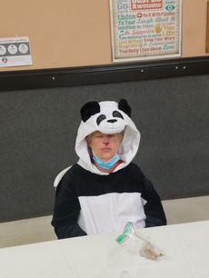 Amy as a Panda