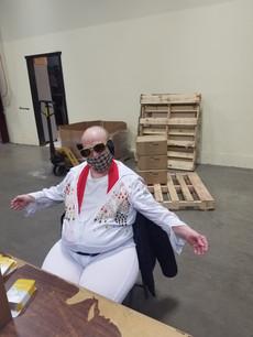 Randy was Elvis