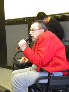Glen singing