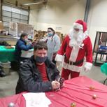 Santa and Jimmy