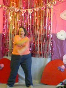 Larae and her dance moves!