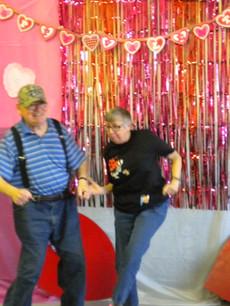 Mike and Kim do the Polka