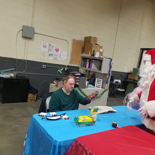 Santa and Mathew