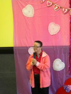 Susan singing