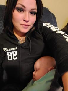 Keri babysitting