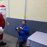 Santa and David