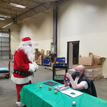 Santa and Randy