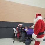 Santa and Mike