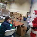 Santa and Darren
