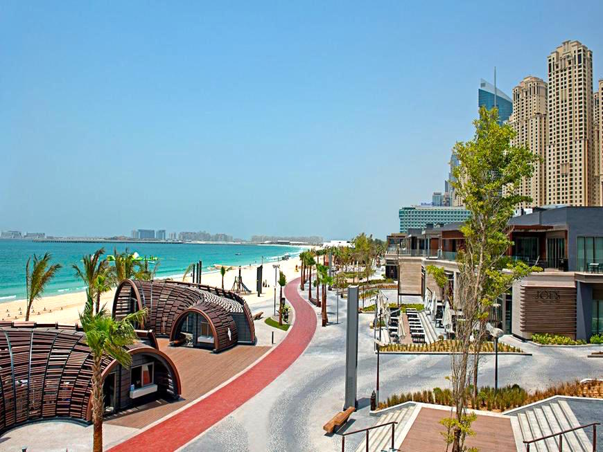 Dubai Beach Running Track