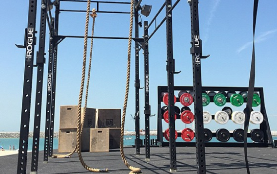 Dubai Beach Gym