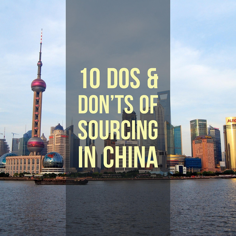 10 Tips of Sourcing in China